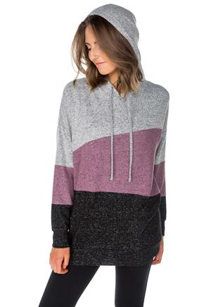 SuperSoft Colour-Blocked Popover Hoodie