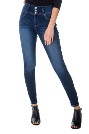 Jegging WallFlower à taille haute en denim insta-soft à fini Riverton